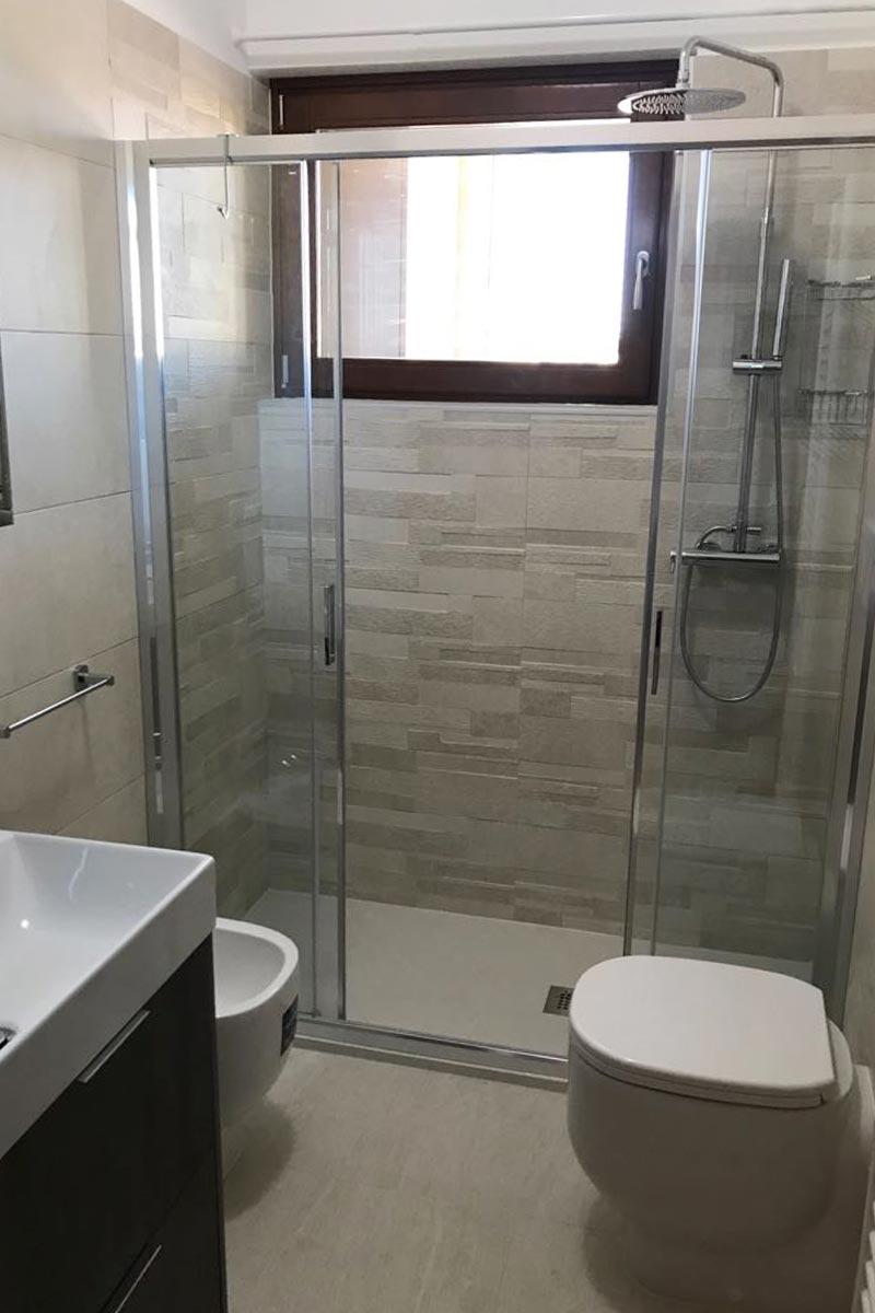 Rifacimento totale bagno arredobagno venturi verona - Esempi ristrutturazione bagno ...